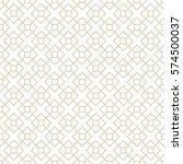 art deco seamless background. | Shutterstock .eps vector #574500037
