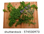 Small photo of Herbs / Herb plate