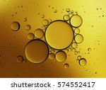 abstract gold background. oil... | Shutterstock . vector #574552417