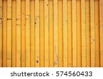 yellow shipping container... | Shutterstock . vector #574560433