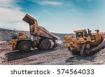 mining machinery | Shutterstock . vector #574564033