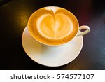 coffee cup cafe hot | Shutterstock . vector #574577107