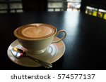 coffee cup cafe hot | Shutterstock . vector #574577137