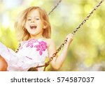 child. | Shutterstock . vector #574587037