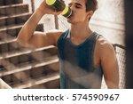 Shot Of Muscular Young Man...