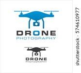 drone logo   Shutterstock .eps vector #574610977