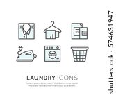 vector icon style illustration... | Shutterstock .eps vector #574631947
