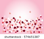 background with different... | Shutterstock .eps vector #574651387