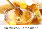 honey. | Shutterstock . vector #574653577