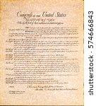 bill of rights | Shutterstock . vector #574666843