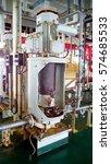 centrifugal pump vertical type | Shutterstock . vector #574685533