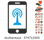 radio control smartphone icon... | Shutterstock .eps vector #574712503