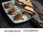 homemade chicken liver pate... | Shutterstock . vector #574789957