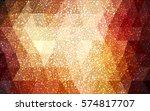 dark orange vector christmas...   Shutterstock .eps vector #574817707