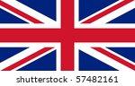 illustration of british union... | Shutterstock . vector #57482161