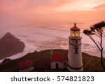 Heceta Head Lighthouse At...