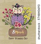 8 March. Happy Women's Day....