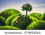 little sheep | Shutterstock . vector #574853563
