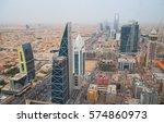 riyadh   february 29  aerial... | Shutterstock . vector #574860973