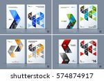 business vector template.... | Shutterstock .eps vector #574874917