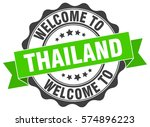 thailand. welcome to thailand... | Shutterstock .eps vector #574896223