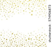 gold glitter background polka... | Shutterstock .eps vector #574906873