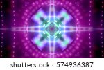 celebration lights | Shutterstock . vector #574936387