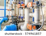 large industrial water... | Shutterstock . vector #574961857