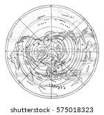 climates  vintage engraved... | Shutterstock . vector #575018323