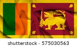 flag of sri lanka   Shutterstock . vector #575030563