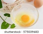 chicken eggs | Shutterstock . vector #575039683