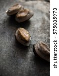 Small photo of Vertical shooting Frozen abalone.