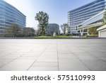empty floor with modern... | Shutterstock . vector #575110993