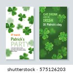 modern invitation to a party st.... | Shutterstock .eps vector #575126203