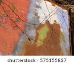 abstract rusty metal surface... | Shutterstock . vector #575155837
