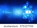 2d medical structure background | Shutterstock . vector #575157703