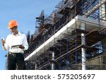 engineer in the industry | Shutterstock . vector #575205697