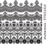 vector set with baroque...   Shutterstock .eps vector #575211313