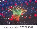 night lights abstract  | Shutterstock . vector #575225347