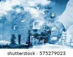 industry 4.0 concept  smart... | Shutterstock . vector #575279023