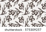 seamless vector pattern with... | Shutterstock .eps vector #575309257