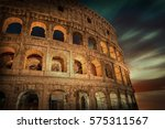 rome  italy. one of the most... | Shutterstock . vector #575311567