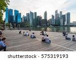 singapore   october 15  2016 ... | Shutterstock . vector #575319193