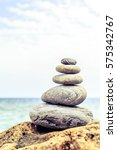 stones balance and wellness... | Shutterstock . vector #575342767
