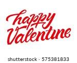happy valentine | Shutterstock .eps vector #575381833