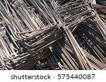 steel bar close up | Shutterstock . vector #575440087