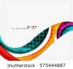 business corporate wave... | Shutterstock .eps vector #575444887
