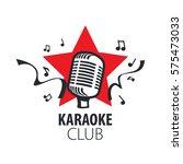 vector logo karaoke | Shutterstock .eps vector #575473033