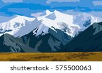 mountain   Shutterstock .eps vector #575500063