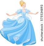 the royal ball dance of... | Shutterstock .eps vector #575534893